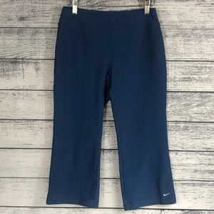 NIKE-DRI-FIT 3/4 Workout Pants 👖 Size S(4-6)